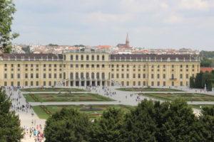 "The beautiful imperial summer castle ""Schönbrunn"" is just a 5-minute walk from our premises."